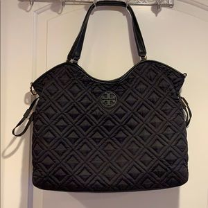 TORY BURCH Marion Quilted Slouchy Baby Bag